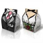 Dress Gown Tuxedo Bride Groom Wedding Favor Gift Box