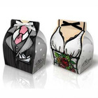 Dress Gown Tuxedo Bride Groom Wedding Favor Gift Box