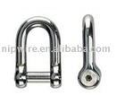 stainless shackle ( wire rope shackle )