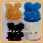 New Arrive Very Cute Cony Hair RabbitCiCi-Applique Design SFC002