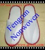 nonwoven disposable cheap hotel slippers