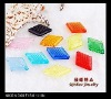 Solid-color beads