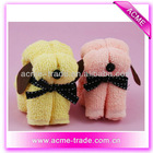 animal dog towel cake
