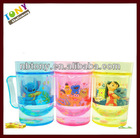 Cool summer ice icy drink plastic cup childrens' drinking cup