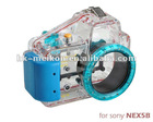 low price water-tight digital camera cases for Sony Nex 5(16mm)