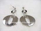 high quality elegant silver earring with CZ paypal acceptable