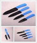 "YangJiang 3""~7"" Black Blade Ceramic Knife wit Knife Sheath"