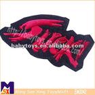 3D words decro embroidered patches,uniform badges