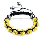 12 color for you ,shamballa 2013 new style bracelet