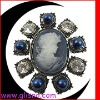 Fashion Beauty head brooch