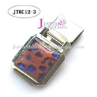 MODERN GLASS ART MENS ACCESSORY MONEY CLIPS
