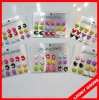 Colorful lovely stud earring