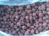 frozen blackberry ripe