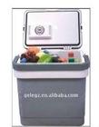 25L car&home mini fridge/portable mini refrigerator/beverage&fruit refrigerator/thermoelectric warm&cooler