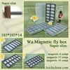 Exclusive Super Slim magnetic plastic fly box