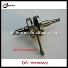 2013 New style XF125 motorcycle crankshaft with high quality for sale
