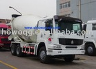 CNHTC Concrete Mixer Load Cube 7-16M3 Punctual Delivery