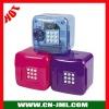 Music coin bank,coin jar,coin counter jar