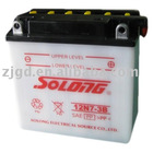 LEAD ACID STORAGE MOTORCYCLE BATTERY 12N7-3B 12V 7AH