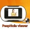 "digital door peephole viewer 2.5"" TFT suppoet SD card"