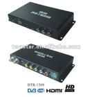 DTR-1309 2012 the Newest HD car DVB-T MPEG4 AVC/H.264 HDMI black receiver