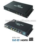 DTR-1309 2012 the Newest HD car DVB-T MPEG4 AVC/H.264 HDMI black receiver