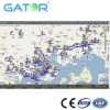 GPS tracking software GS102 for boat and fleet management support many kinds of reports