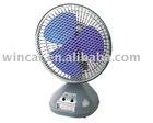Rechargeable car fan