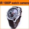 Hot selling 1080p hd secret camera watch with 4GB memory