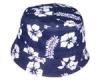 Flower priting ucket Hat