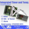 Buzzer timer indicator with temperature controller CT401FK01-VQ*N
