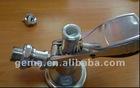 brass chromed beer keg coupler