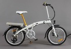 250w folding electric bicycle, with EN15194, Shimano 7 speed gear
