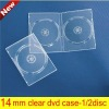 14MM Double Clear Plastic DVD BOX