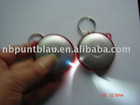 LED keychain light with tape measure