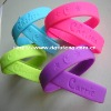 2011 fashionable silicone bracelet with your logo