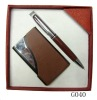 pen and name card gift set for promotion