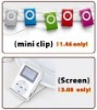 hotsell No scrren ORT-C01, Screen ORT-C09 50% discount off mini Metal MP3 clip Player only On Nov.