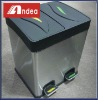 stainless steel pedal dust bin JTFLT-02
