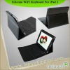 New For iPad bluetooth keyboard with PU case