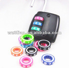 Colorful plastic ABS moving circle wheel of code lock
