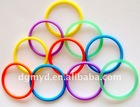 Silicone hair bands