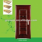 EXTERIOR STEEL SECURITY DOOR (MODEL NO.: SD-011)