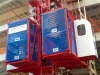 2T Double Cabin Construction Lift, Building Material Hoist, CE approved