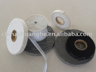 Cap Knitting Double Dot using non woven interlining
