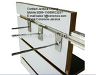 1220*2440*18mm melamine T slot MDF / grooved MDF for decoration
