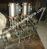With reversing gear 12hp twin cylinder boat steam engine