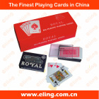 Plastic Playing Card or Plastic Poker Card or PVC playing card
