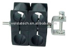 """Double Cable Hanger for 7/8"""" Coax Cable"""