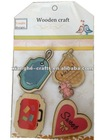 Decorative printing wood pieces for craft